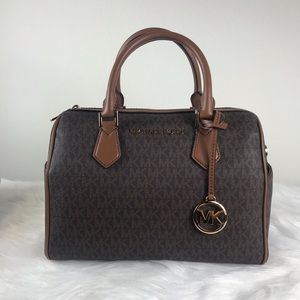 🔥SALE🔥 Michael Kors Bedford Large Duffel Satchel